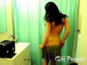 Sweet Ex Girlfriend Strips Seductively
