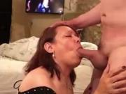 Mature is hungry for cock