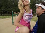 Cheer Coach and Dancers into a Steamy One on One Practice