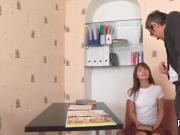 Ideal schoolgirl gets seduced and fucked by her senior schoolteacher