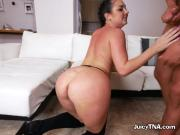 Assistant Brittany Shae Does Anal And BJ For Boss