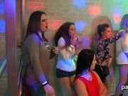 Slutty teens get totally silly and nude at hardcore party