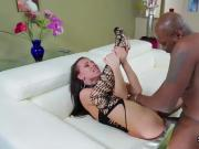 Pornstar babe gets her anal rode with stiff tool