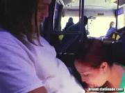 Public Blowjob on Bus