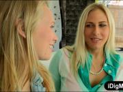 Angel Allwood and Dakota James horny FFM threesome session
