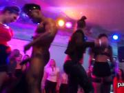 Naughty nymphos get absolutely insane and nude at hardcore party
