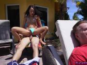 Small teen Holly Hendrix harcore anal fuck
