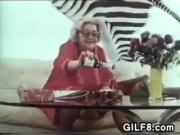 Granny Masturbates With A Bottle