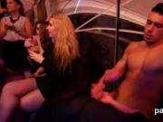 Unusual chicks get totally foolish and nude at hardcore party