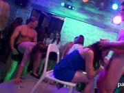Kinky girls get absolutely crazy and stripped at hardcore party