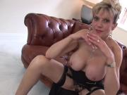 Unfaithful english milf lady sonia pops out her giant knockers