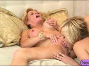Kate England n Amanda Verhooks fondling each others pussies