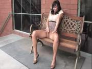 Babe Masturbate Outdoor