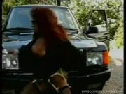 Brazen Redhead Slut Rubbing Cunt And Gets Mounted