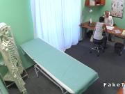 Petite Russian patient fucks doctor
