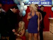 Large-Boobed Faye Reagan, Jacky Joy, & Tasha Reign Fucked During Dance