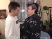 Fat Mature Gal Bangs Stiff Cock