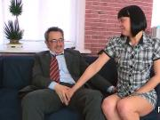 Fervid schoolgirl gets seduced and screwed by her older schoolteacher