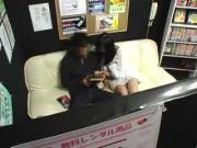 Osaka Chick Services Stiff Penis