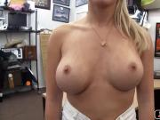 Horny busty babe loves to get banged by a big dick