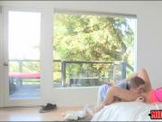 Darryl Hanah and Shyla Jameson hot orgy in the bedroom