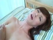 Hot Japanese Chick Jills Off And Swallows Shaft