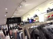 Striking czech cutie is tempted in the mall and drilled in pov