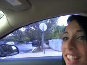 Latina teen babe Mia Hurley gets fucked by stranger guy