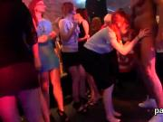 Naughty teens get entirely insane and nude at hardcore party