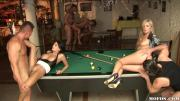 Some Naughty Sorority Girls Cum Hard At Orgy Pool Party