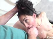 Gabriella Paltrova gets massive cock stuffed up in her ass