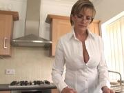 Adulterous english mature lady sonia displays her large jugs