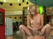 Handjob Hottie Kat Gives An Extra