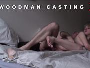 Casting bombshell goes away after hardcore penetration and anal shagging
