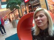 Stellar czech teenie is tempted in the shopping centre and nailed in pov