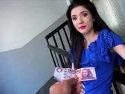 Hot slutty babe Mia Evans entertain horny dude for cash