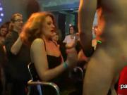 Slutty teenies get absolutely silly and naked at hardcore party