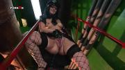 Horny Vixen Wearing Fishnets Is Pounded Insanely With A Cunt Pump