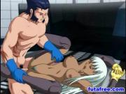 Threesome hentai fucking hot each other