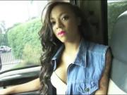 Diamond Monroe hitchhikes and banged by pervert stranger guy