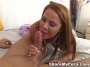 Fabulous Girls Suck A Throbbing Shaft