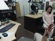 Sexy housewife screwed by pawn keeper at the pawnshop
