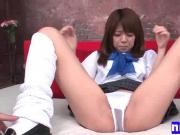 Japanese teen schoolgirl shaving HD