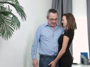 Lovely college girl gets seduced and screwed by her elderly tutor