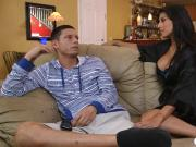 Latina stepmom fixes the problems between this teen couple