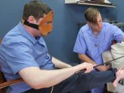 Wicked nympho is brought in anal nuthouse for uninhibited therapy