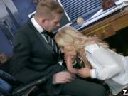 Alix Lynx pussy rides on top of Danny Ds cock