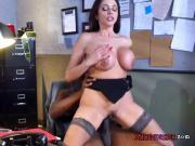 Busty Cougar Ariella Ferrera Gets Demolished By Boss