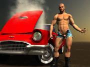 3D Muscular Boys Fuck Straight Males!