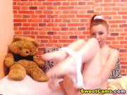 Cute Redhead Alice Toys her Pussy Till she Orgasms
